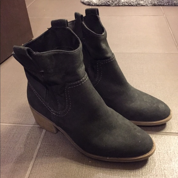 Merona Shoes - Merona brand Short booties, Size 8